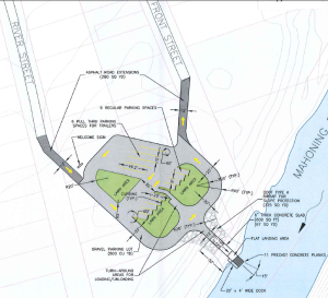 Girard Launch Site Drawing